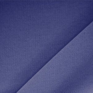 Indaco Blue Polyester Crêpe Microfiber Plain fabric for Dress, Jacket, Light Coat, Pants, Skirt.