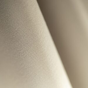 Chalk Beige Cotton, Stretch Cotton Gabardine Stretch Plain fabric for Pants.