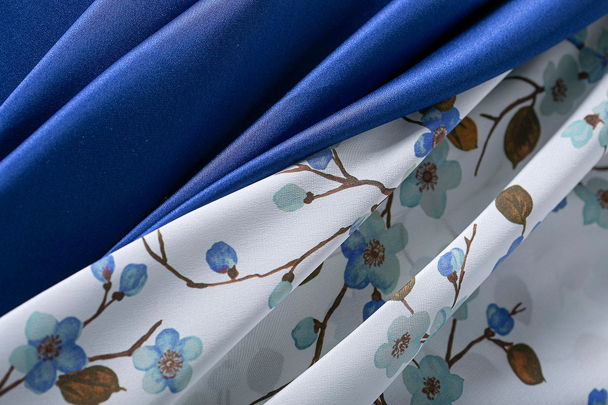 Silk crepe de chine fabrics for dressmaking and fashion | new tess