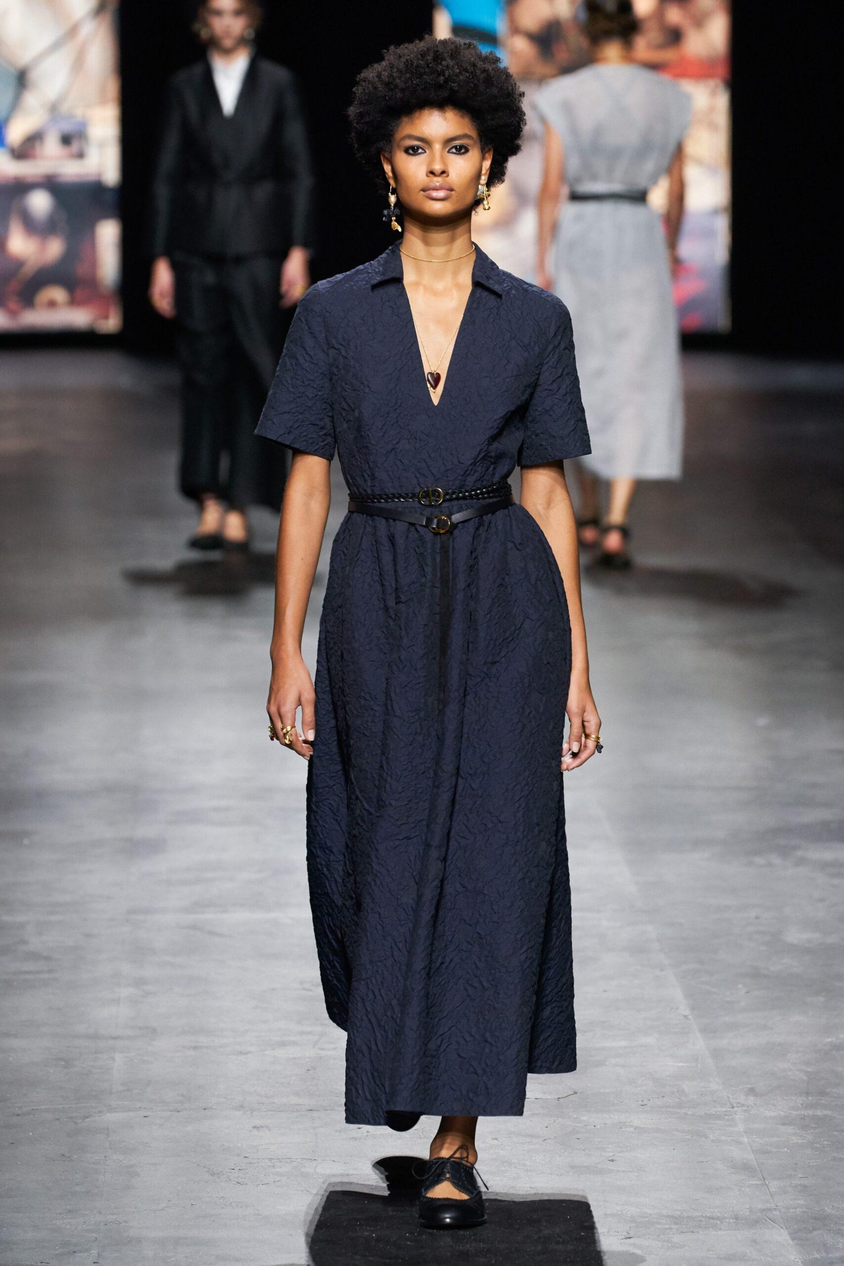 Blu scuro - Dior Ready-to-Wear Spring 2021