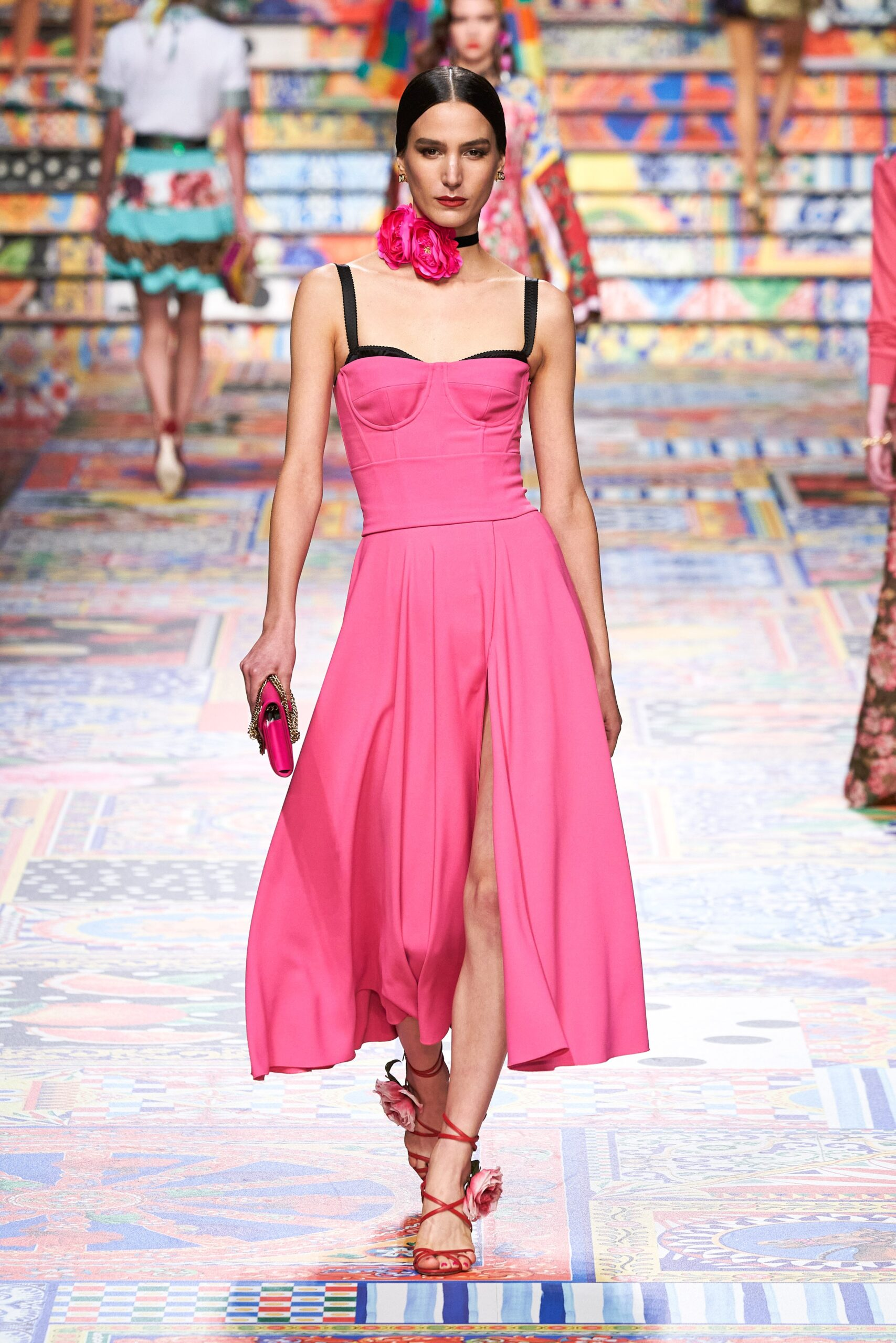 Rosa lampone - Dolce & Gabbana Ready-to-Wear Spring 2021
