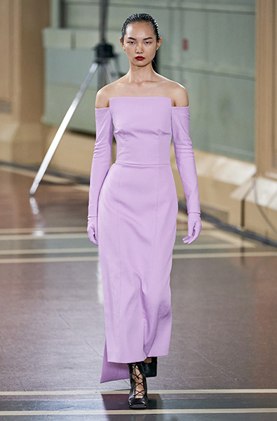 Lavender - Emilia Wickstead Ready-to-Wear Spring 2020