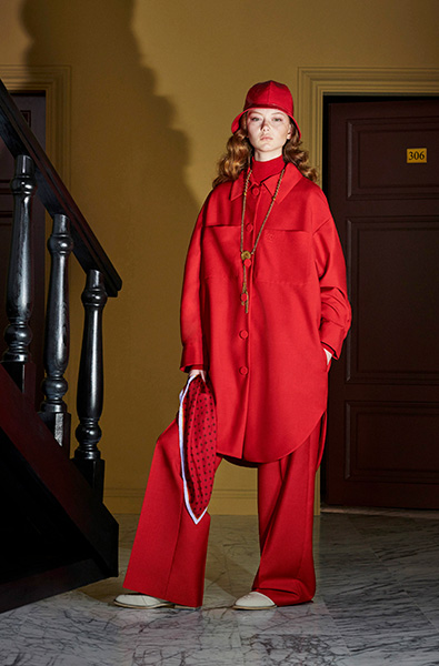 Fiery Red - Fendi Resort2020