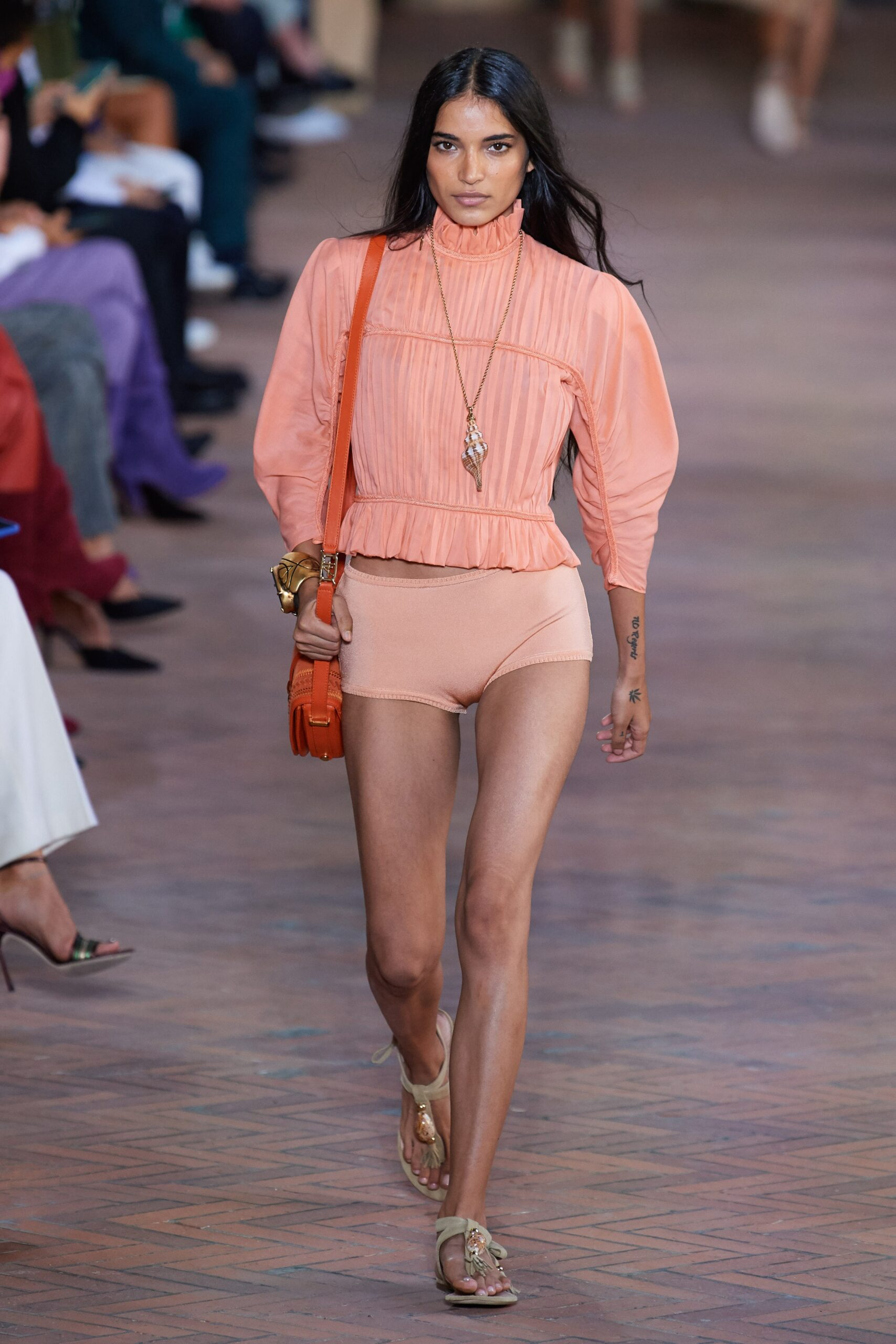 Rosa corallo - Alberta Ferretti Ready-to-Wear Spring 2021