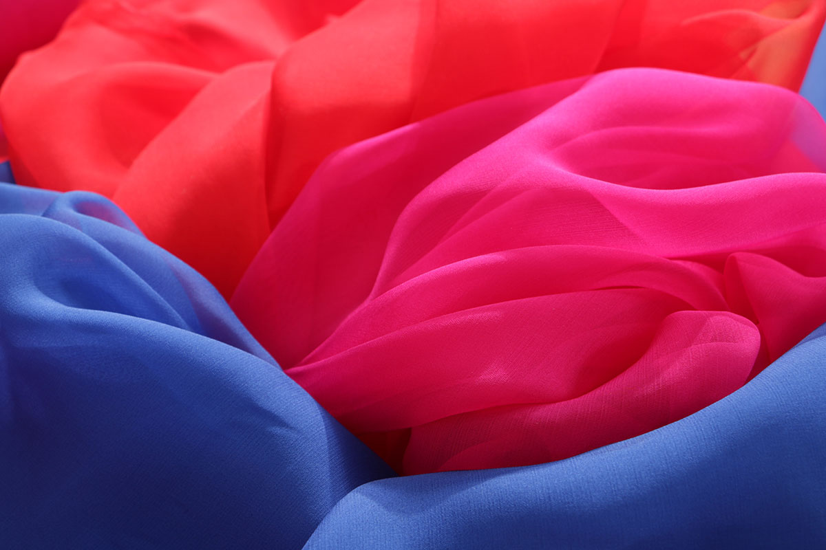Premium quality Italian silk chiffon fabric by the metre | new tess