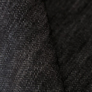 Black Cotton Fine Suit fabric for Jacket.