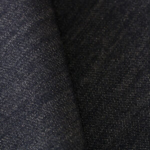Blue Cotton, Stretch, Wool Fine Suit fabric for Pants.