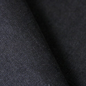 Black Linen Fine Suit fabric for Suit.
