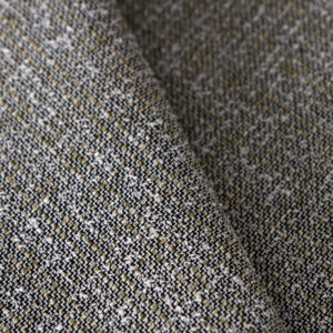 Green Cotton, Linen, Polyester, Silk, Stretch Fine Suit fabric for Jacket.