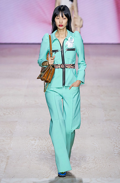 Tanager Turquoise- Louis Vuitton Ready-to-Wear Spring 2020