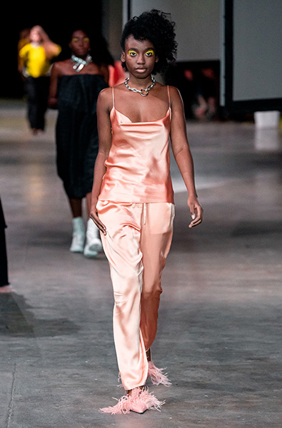 Peach Nougat - Marques Almeida Ready-to-Wear Spring 2020