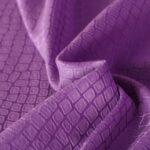 Purple Cotton, Silk Jacquard fabric for Dress, Shirt.