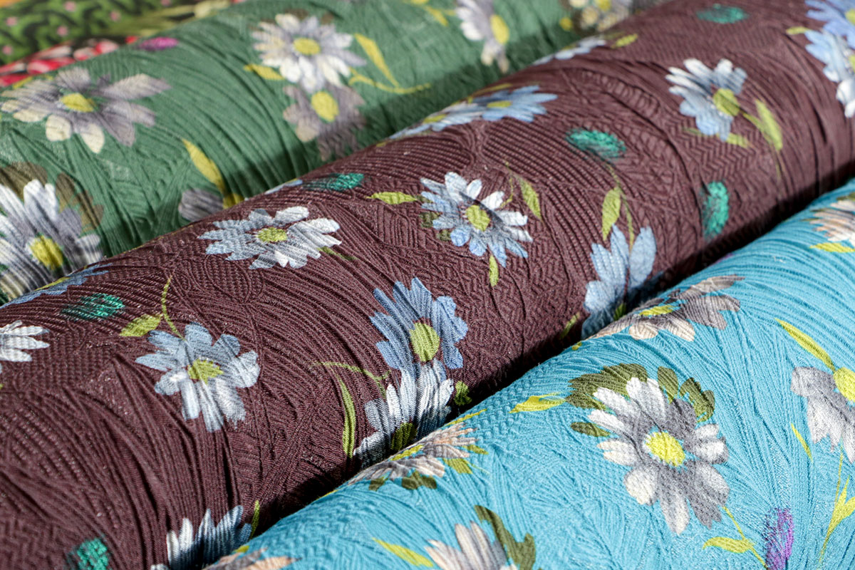 Silk floral prints | new tess apparel fabrics
