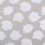 White Polyester, Silk Organza Jacquard fabric for Ceremony Dress, Wedding dress.