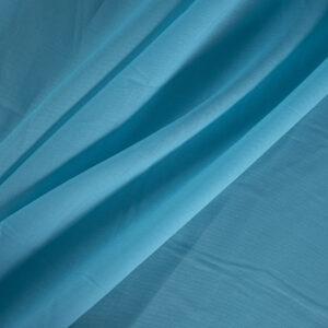 Blue Cotton Muslin Plain fabric for Shirt.