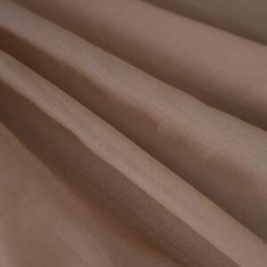 Beige Cotton Muslin Plain fabric for Shirt.