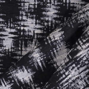 Black, White Cotton, Other, Polyester Jacquard fabric for Jacket, Light Coat.