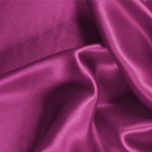 Iris Purple Silk Crêpe Satin Plain fabric for Ceremony Dress, Dress, Party dress, Shirt, Skirt, Underwear.