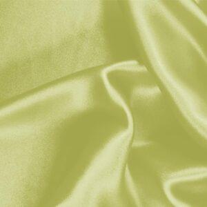 Tissu Uni Crêpe Satin Vert citron en Soie pour Chemise, Jupe, Lingerie, Robe, Robe de cérémonie, Robe de soirée.