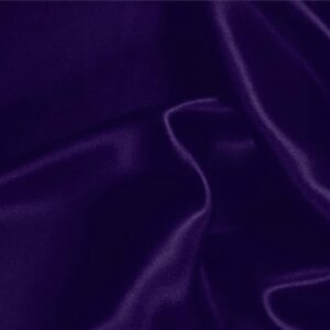Violetta Purple Silk Satin Stretch Plain fabric for Ceremony Dress, Dress, Party dress, Shirt, Underwear.