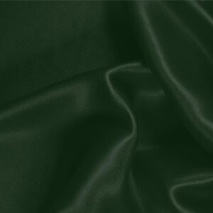 Abete Green Silk Satin Stretch Plain fabric for Ceremony Dress, Dress, Party dress, Shirt, Underwear.