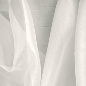 Ivory Pink Silk Organza Plain fabric for Ceremony Dress, Dress, Party dress, Shirt, Wedding dress.