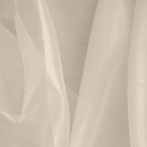 Cipria Pink Silk Organza Plain fabric for Ceremony Dress, Dress, Party dress, Shirt, Wedding dress.