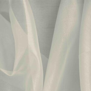 Marmo Gray Silk Organza Plain fabric for Ceremony Dress, Dress, Party dress, Shirt, Wedding dress.