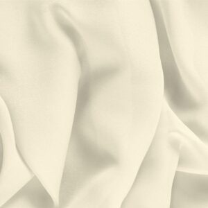 Latte White Silk Georgette Plain fabric for Ceremony Dress, Dress, Party dress, Shirt, Underwear, Wedding dress.