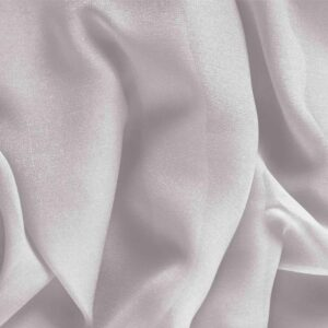 Rugiada Silver Silk Georgette Plain fabric for Ceremony Dress, Dress, Party dress, Shirt, Underwear, Wedding dress.