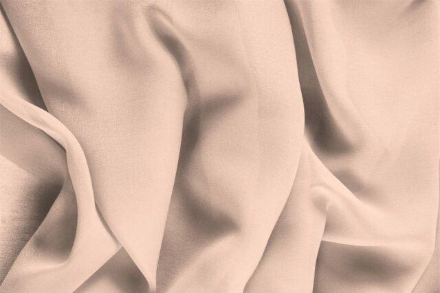 Tissu Uni Georgette Rose freesia en Soie pour Chemise, Lingerie, Robe, Robe de cérémonie, Robe de mariée, Robe de soirée.