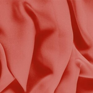 Pomodoro Orange Silk Georgette Plain fabric for Ceremony Dress, Dress, Party dress, Shirt, Underwear.