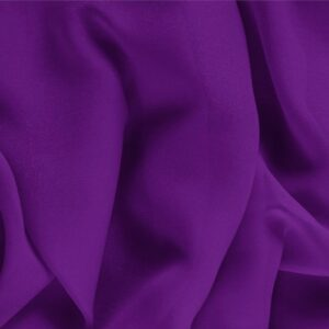 Mirtillo Purple Silk Georgette Plain fabric for Ceremony Dress, Dress, Party dress, Shirt, Underwear.