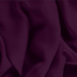 Prugna Purple Silk Georgette Plain fabric for Ceremony Dress, Dress, Party dress, Shirt, Underwear.