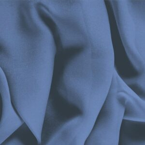 Thunder Blue Silk Georgette Plain fabric for Ceremony Dress, Dress, Party dress, Shirt, Underwear.