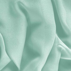 Clorofilla Green Silk Georgette Plain fabric for Ceremony Dress, Dress, Party dress, Shirt, Underwear, Wedding dress.