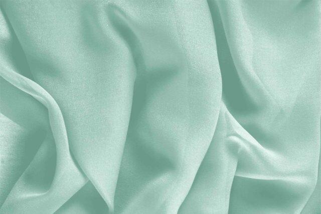 Chlorophyll Green Silk Georgette Plain fabric for Ceremony Dress, Dress, Party dress, Shirt, Underwear, Wedding dress.