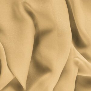 Biscotto Beige Silk Georgette Plain fabric for Ceremony Dress, Dress, Party dress, Shirt, Underwear, Wedding dress.