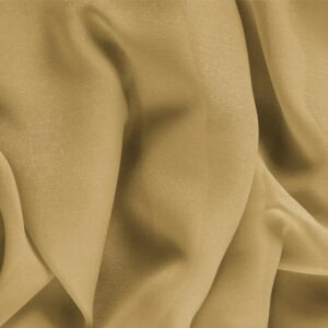 Miele Brown Silk Georgette Plain fabric for Ceremony Dress, Dress, Party dress, Shirt, Underwear.