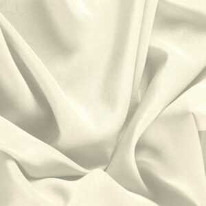 Latte White Silk Crêpe de Chine Plain fabric for Dress, Shirt, Underwear.