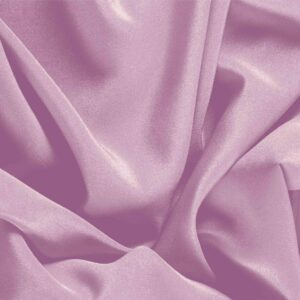 Fata Pink Silk Crêpe de Chine Plain fabric for Dress, Shirt, Underwear.