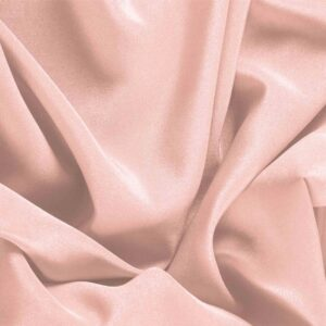 Quartz Pink Silk Crêpe de Chine Plain fabric for Dress, Shirt, Underwear.