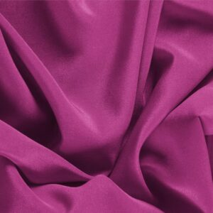 Iris Purple Silk Crêpe de Chine Plain fabric for Dress, Shirt, Underwear.