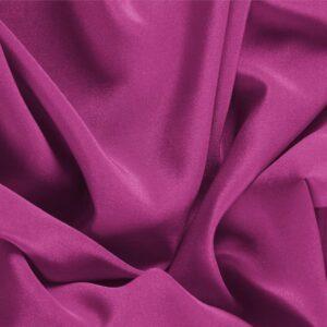 Tissu Uni Crêpe de Chine Violet Iris en Soie pour Chemise, Lingerie, Robe.