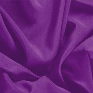 Cardinale Purple Silk Crêpe de Chine Plain fabric for Dress, Shirt, Underwear.