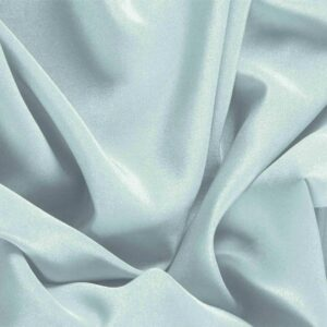 Acqua Blue Silk Crêpe de Chine Plain fabric for Dress, Shirt, Underwear.