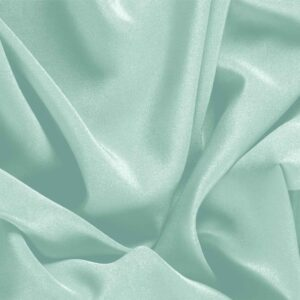 Clorofilla Green Silk Crêpe de Chine Plain fabric for Dress, Shirt, Underwear.