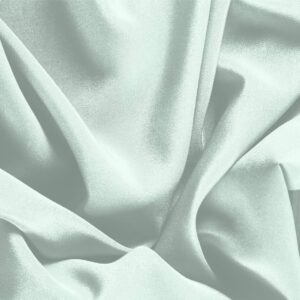 Opale Green Silk Crêpe de Chine Plain fabric for Dress, Shirt, Underwear.