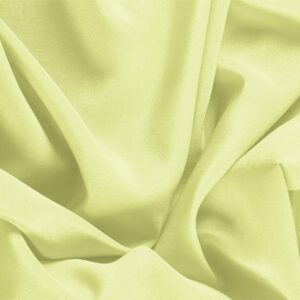 Lime Green Silk Crêpe de Chine Plain fabric for Dress, Shirt, Underwear.