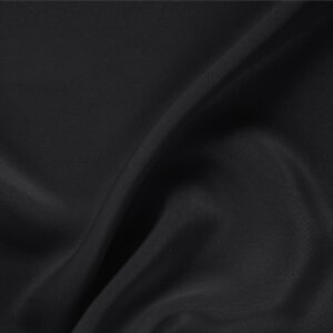Black Silk Drap Plain fabric for Ceremony Dress, Dress, Jacket, Pants, Skirt.
